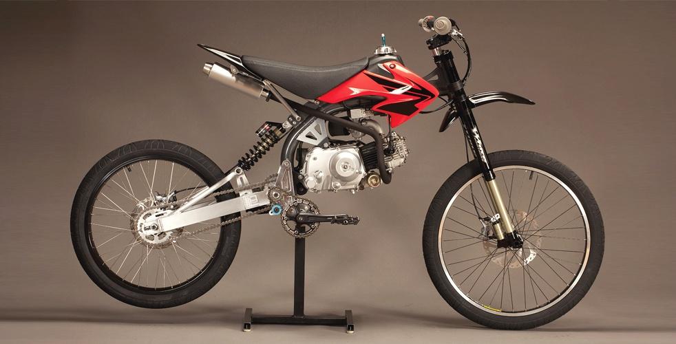 Mountain Motorized Honda Bike