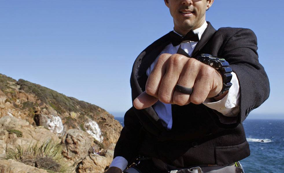 The QALO Ring Is The Wedding Band For Active Guys Cool