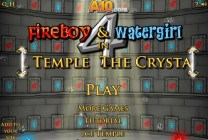 Fireboy & Watergirl 4 in the Crystal Temple