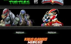Ninja Turtles vs Power Ranger
