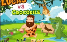 Lucas vs Crocodile