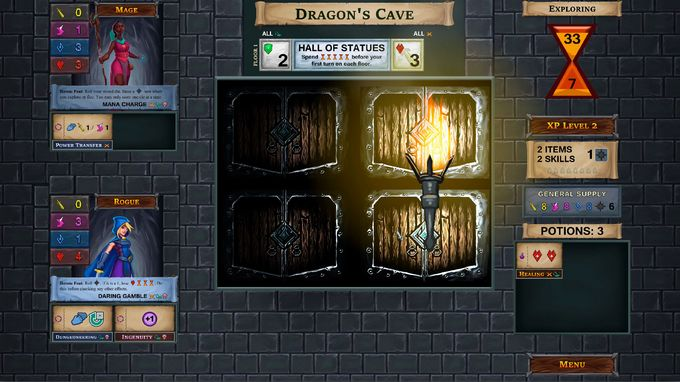 Free Download One Deck Dungeon PC Game