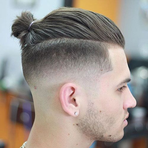 25 Best Faded Hairstyles For Men With Long On Top Cool
