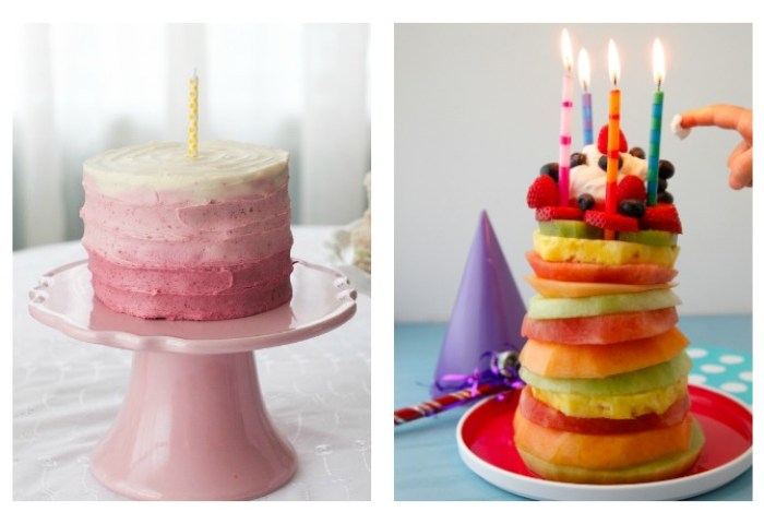 9 Sweet But Low Sugar First Birthday Party Treats