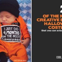 25 of the most adorably creative DIY baby costumes for Halloween...that you can actually make.