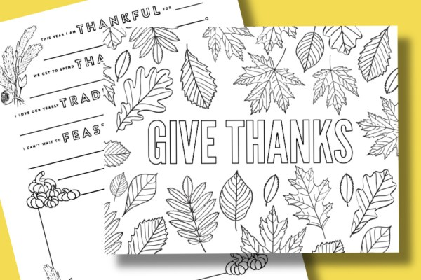 thanksgiving color pages free # 57