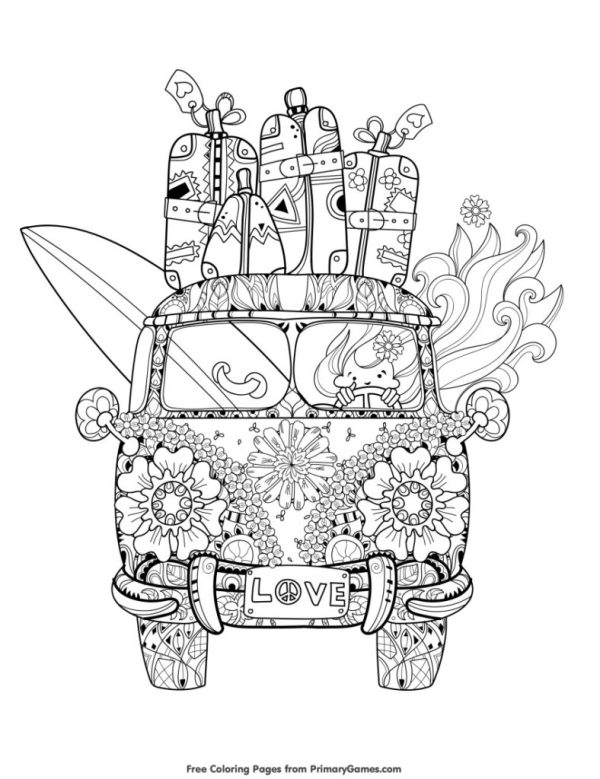 summer coloring pages printable # 17