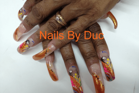 Really Pretty Long Acrylic Nails 4k Pictures 4k Pictures Full