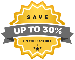 Cool-n-Save saves up to 30% on the cost of running your AC Unit