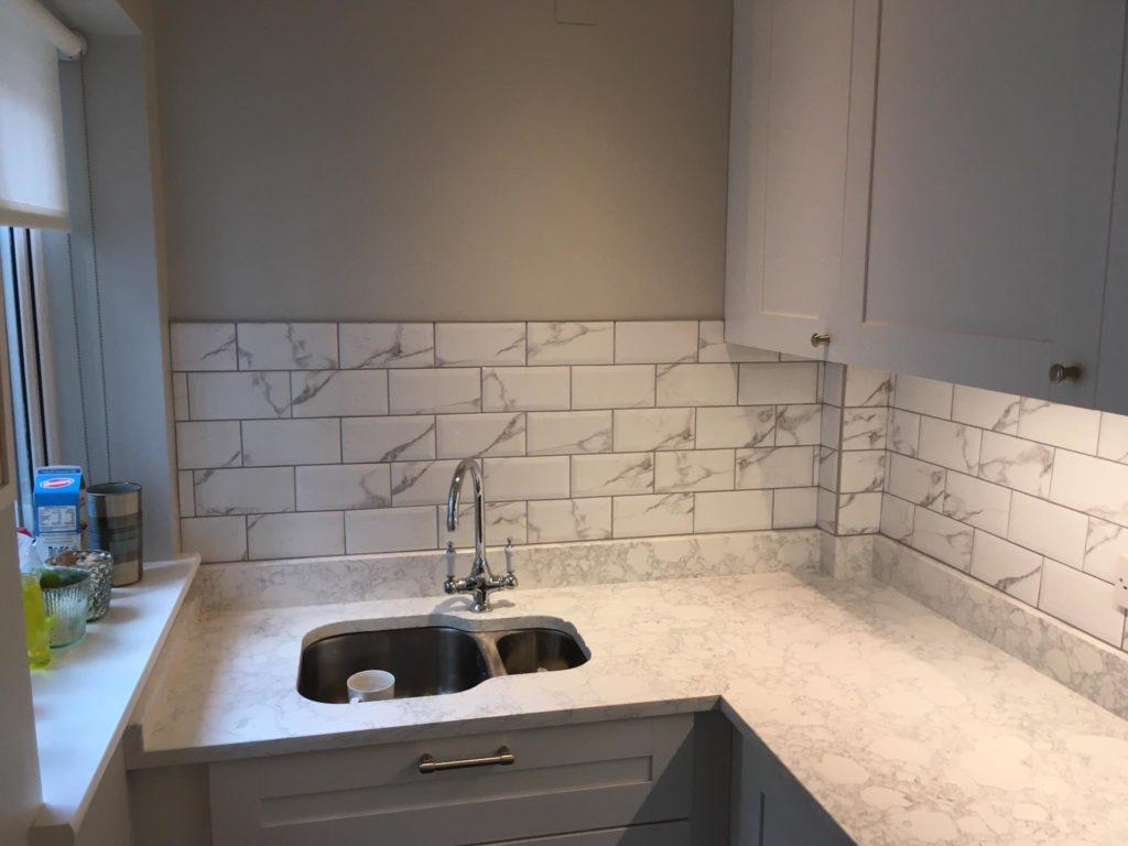 kitchen tile project november 2018