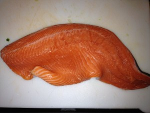 A beautiful steelhead fillet