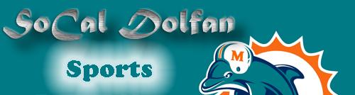 SoCal Dolfan Banner