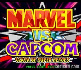 Marvel Vs Capcom Clash Of Super Heroes ROM ISO
