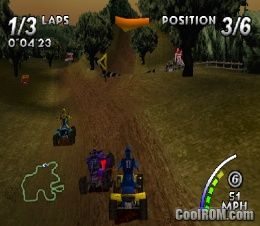 ATV - Quad Power Racing ROM (ISO) Download for Sony Playstation / PSX - CoolROM.com