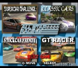 All Star Racing ROM (ISO) Download for Sony Playstation / PSX - CoolROM.com