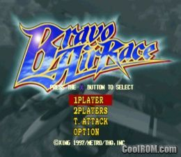 Bravo Air Race ROM (ISO) Download for Sony Playstation / PSX - CoolROM.com