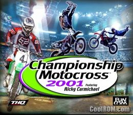 Championship Motocross 2001 Featuring Ricky Carmichael ROM ...