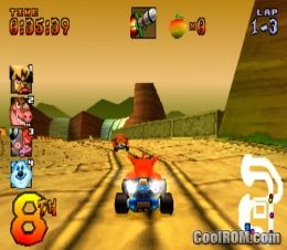 Crash Team Racing (Demo) ROM (ISO) Download for Sony Playstation / PSX - CoolROM.co.uk