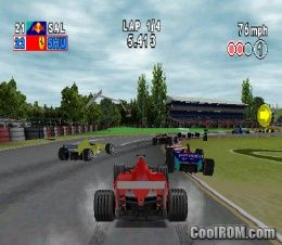 F1 2000 ROM (ISO) Download for Sony Playstation / PSX - CoolROM.com