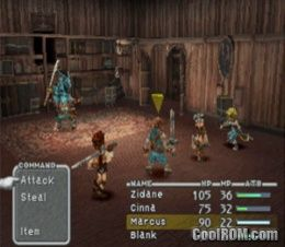 Final Fantasy IX Disc 4 V10 ROM ISO Download For Sony Playstation PSX