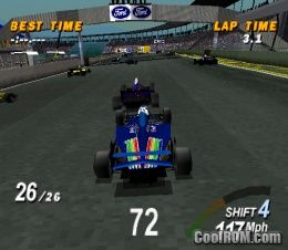 Formula 1 ROM (ISO) Download for Sony Playstation / PSX - CoolROM.co.uk