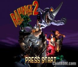 Rampage 2 - Universal Tour ROM (ISO) Download for Sony Playstation / PSX - CoolROM.com
