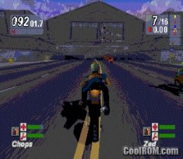 Road Rash - Jailbreak ROM (ISO) Download for Sony Playstation / PSX - CoolROM.com