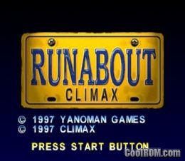 Runabout (Japan) ROM (ISO) Download for Sony Playstation / PSX - CoolROM.com