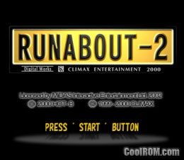 Runabout 2 (Japan) ROM (ISO) Download for Sony Playstation / PSX - CoolROM.com