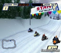 Sled Storm (Europe) (Alt) ROM (ISO) Download for Sony Playstation / PSX - CoolROM.com