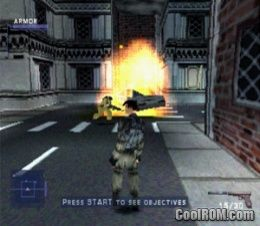Syphon Filter V10 ROM ISO Download For Sony Playstation PSX