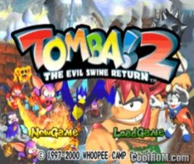 Tomba  The Evil Swine Return Rom Iso Download For Sony Playstation Psx Coolrom Com