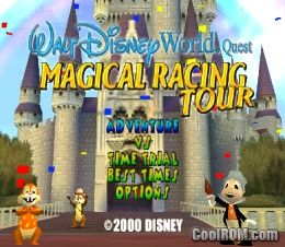 Walt Disney World Quest - Magical Racing Tour ROM (ISO) Download for Sony Playstation / PSX ...