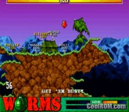Worms ROM (ISO) Download for Sony Playstation / PSX - CoolROM.com
