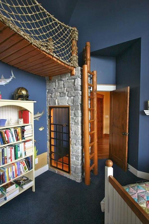 19 Totally Epic Kids Room Ideas Even As An Adult I Would Never Leave Number 7 Cools And Fools