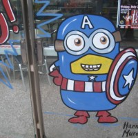 Evil Minions attempt to mimic superheroes!