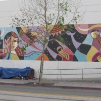 The Strength of Women mural by Rafael Lopez.