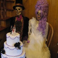 Elegantly dressed skeletons discovered in old hotel!