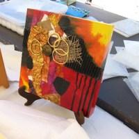 Create a collage in Balboa Park's Spanish Village!