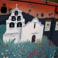 Fun street art on Mission Center Road!
