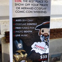 Pirate Con in San Diego during Comic-Con week!