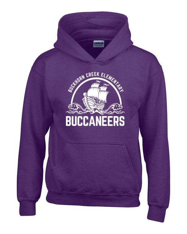 Buckhorn Creek Hoodie - Purple