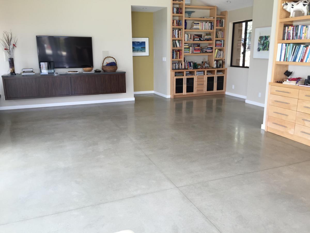 Residential interior floor- Topanga, Ca