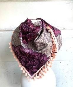 Foulard fleur de sel tamisée