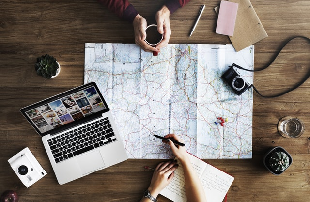 organising your itinerary and planning ahead for travel with babies