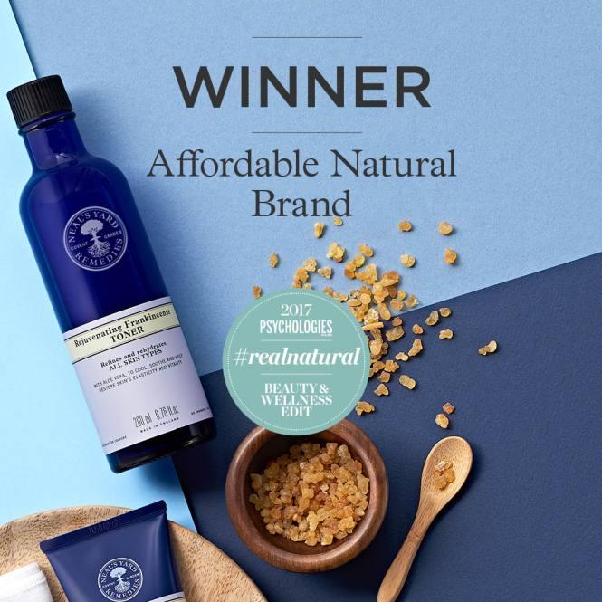 winner best affordable natural brand