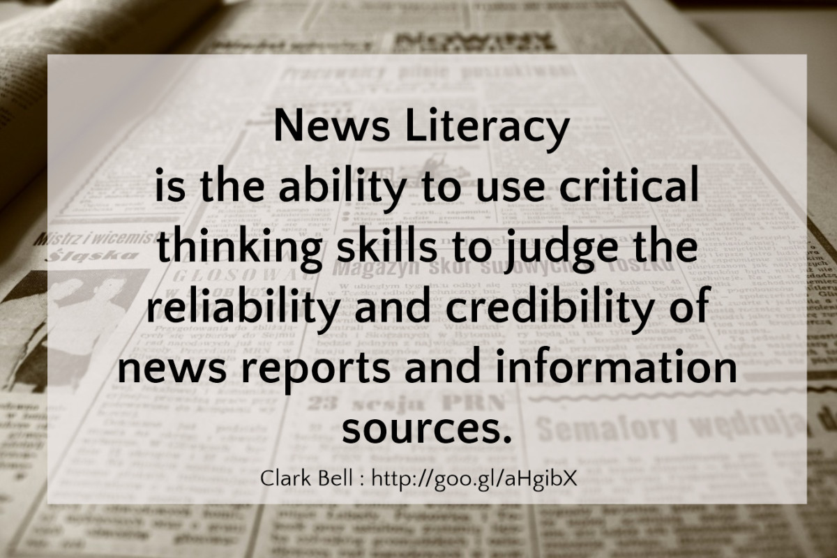 Thing 12: News Literacy - Cool Tools for School