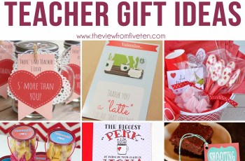 Valentine's Day Gifts Ideas for Teachers 2018
