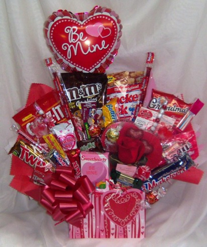 Valentine Gift Baskets For College Students 2018