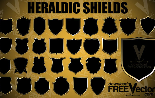 Coat Arms Shield Shapes